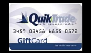 QuikTrade Gift Cards, TradeX, Business Bartering Network, Birmingham, Alabama