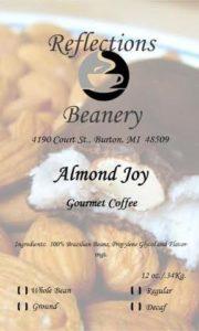 Reflections Beanery Almond Joy Coffee
