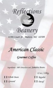 Reflections Beanery American Classic Coffee
