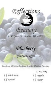 Reflections Beanery Blueberry
