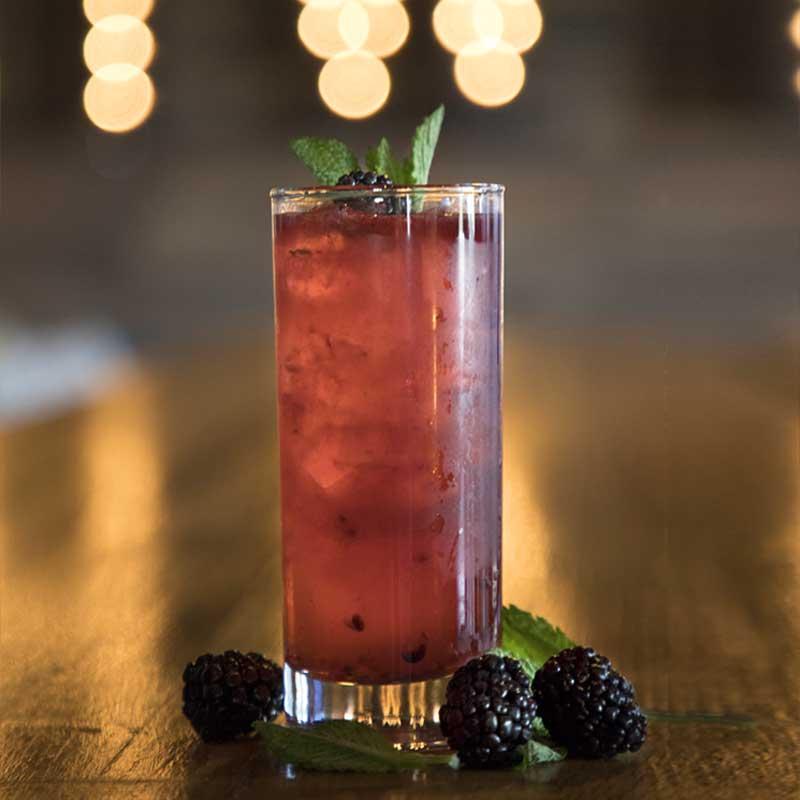 SoHo Social Restaurant Berry Drink