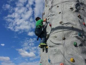 Adventure Park at Grants Mill Irondale Alabama Rock Climber