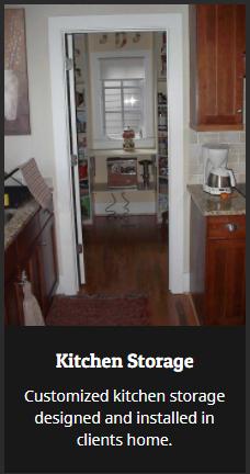 Birmingham Buidling and Construction, Closettec, Kitchen Storage