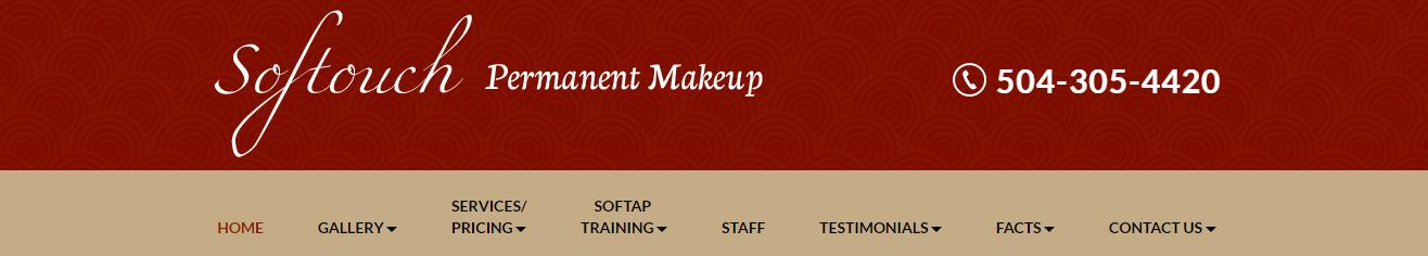 Birmingham Softouch Permanent Makeup Website