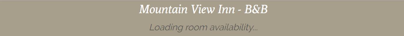 Mentone Mountain Inn Website