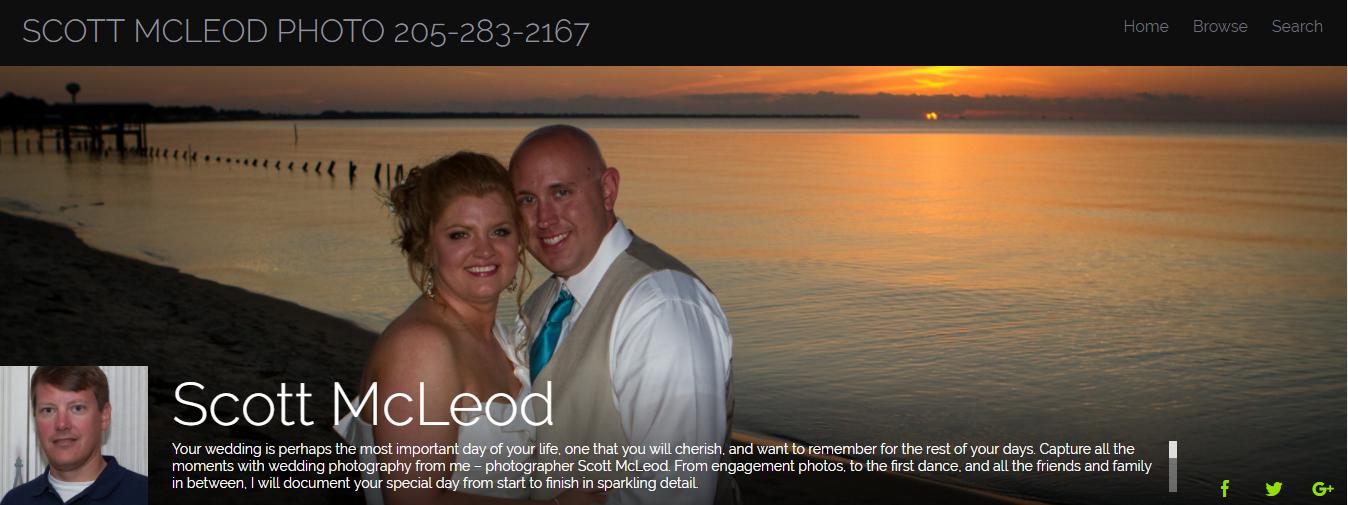 Scott McLeod Website, Photographer, Birmingham Alabama