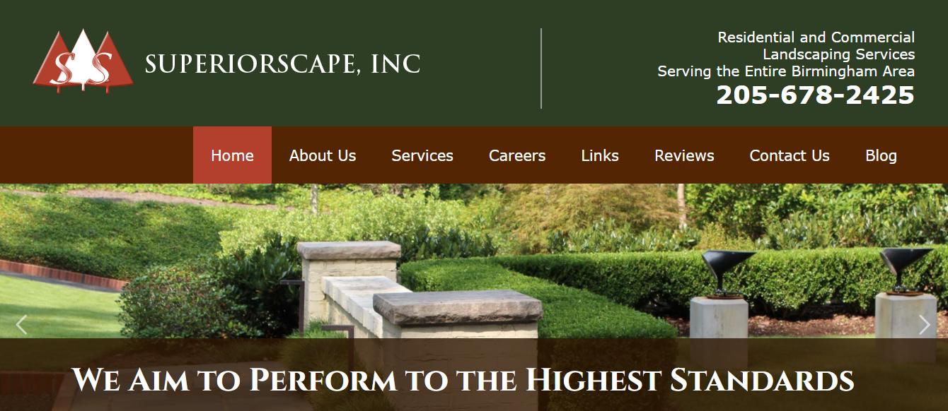 Superiorscape Website