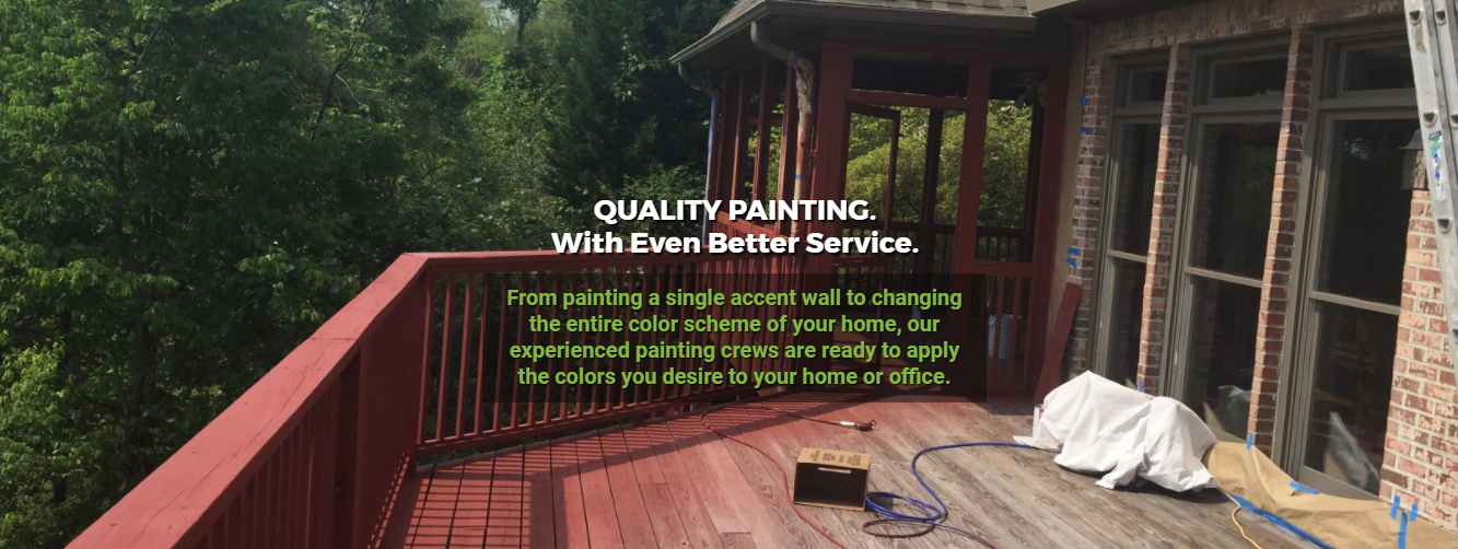 The Paint Company Quality Painting Better Service