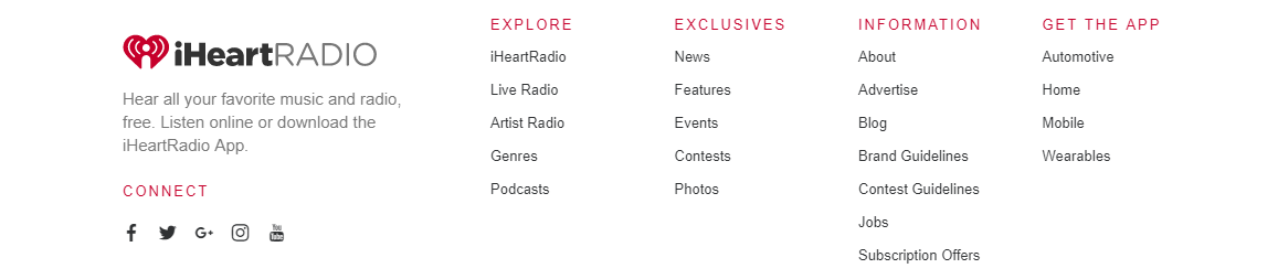 iHeart Media Inc Banner