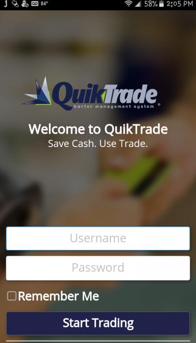 QuikTrade APP Login